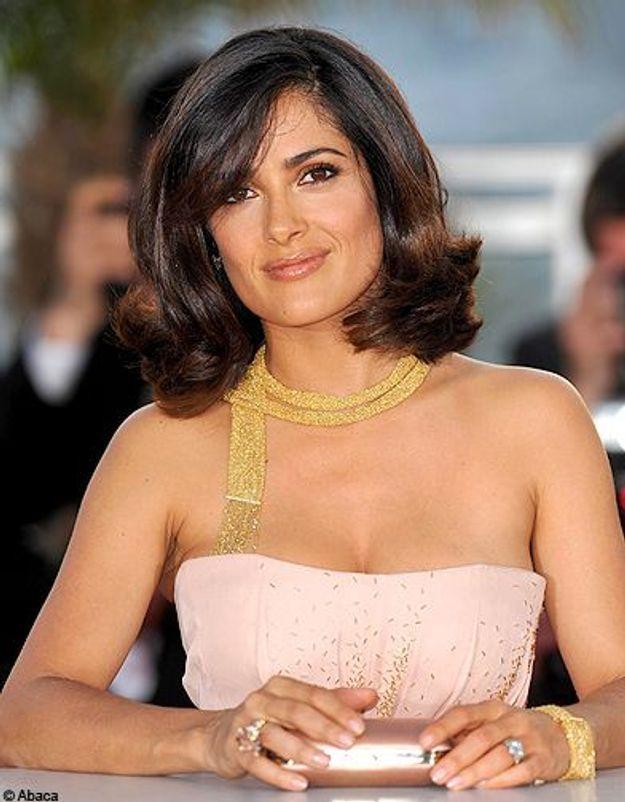 People tendance bijoux luxe joaillerie salma hayek boucheron