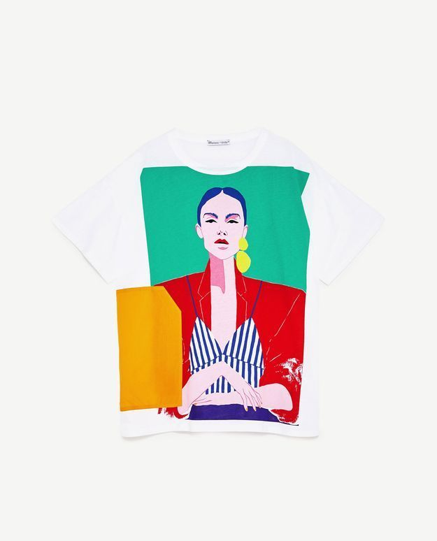 Tee-shirt été Zara