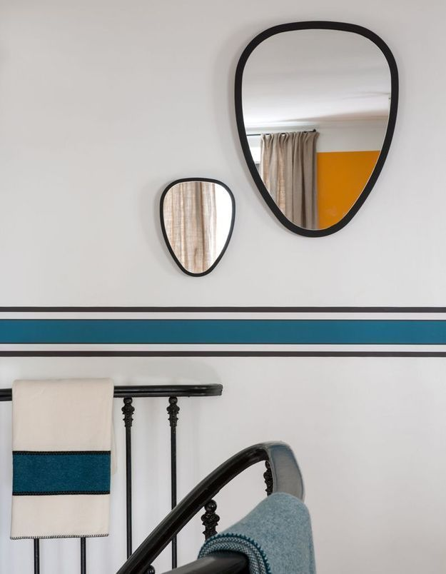 Frise bleue Maison Sarah Lavoine
