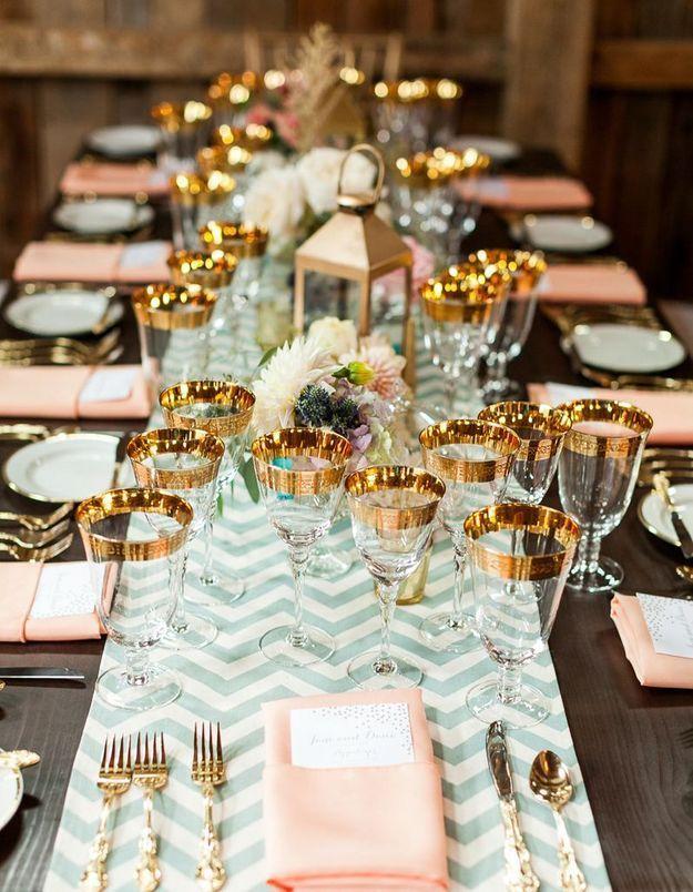 Une table de fête pastel