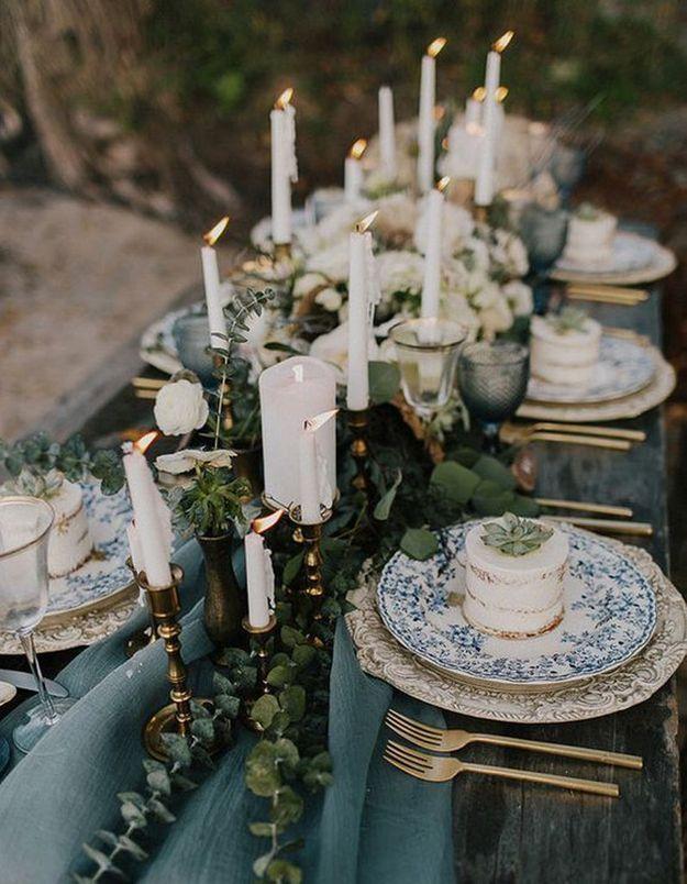 Une table de fête rococo