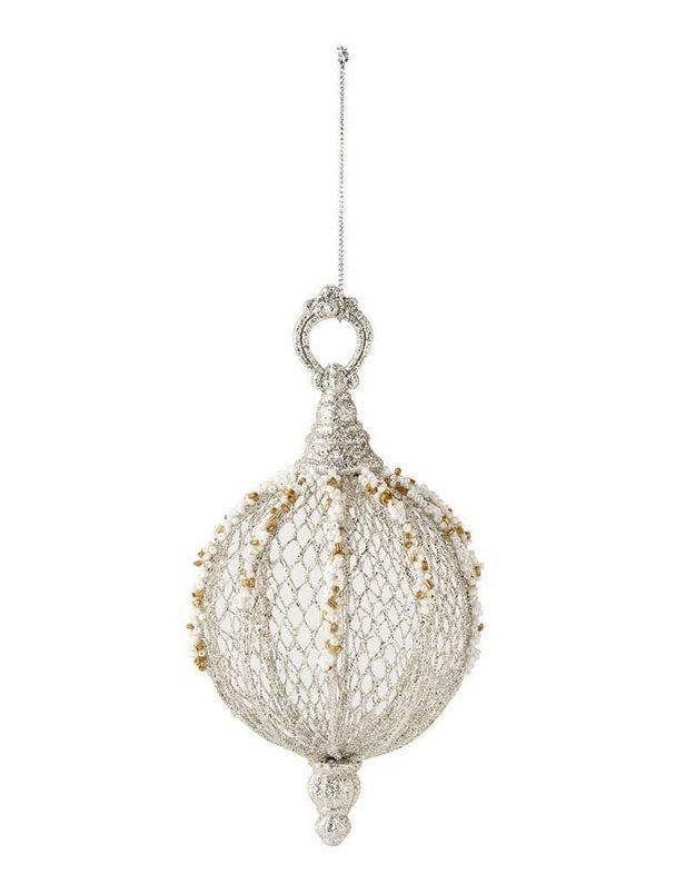 Boule de Noël en perles