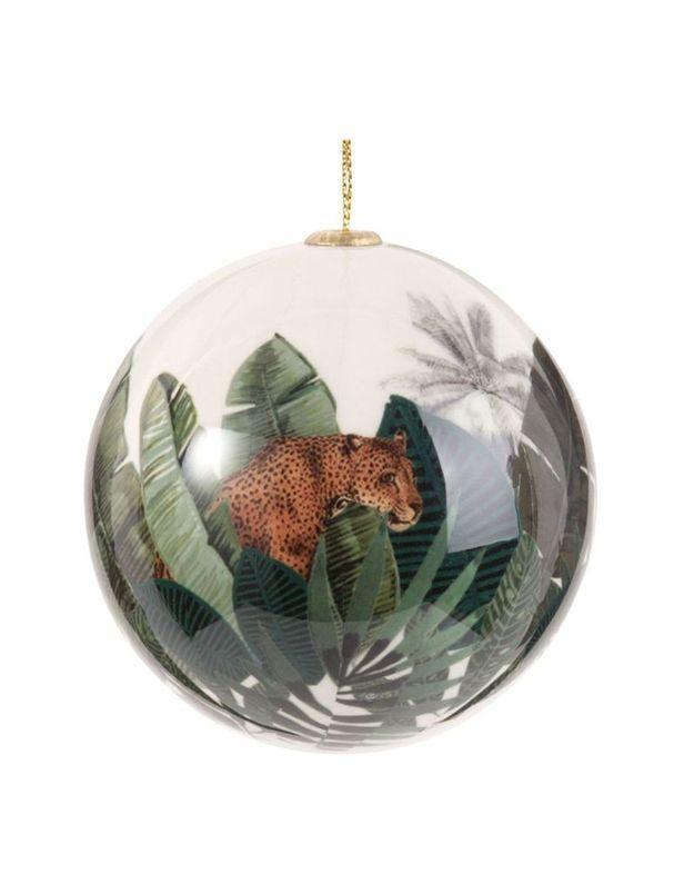 Boule de Noël tropicale