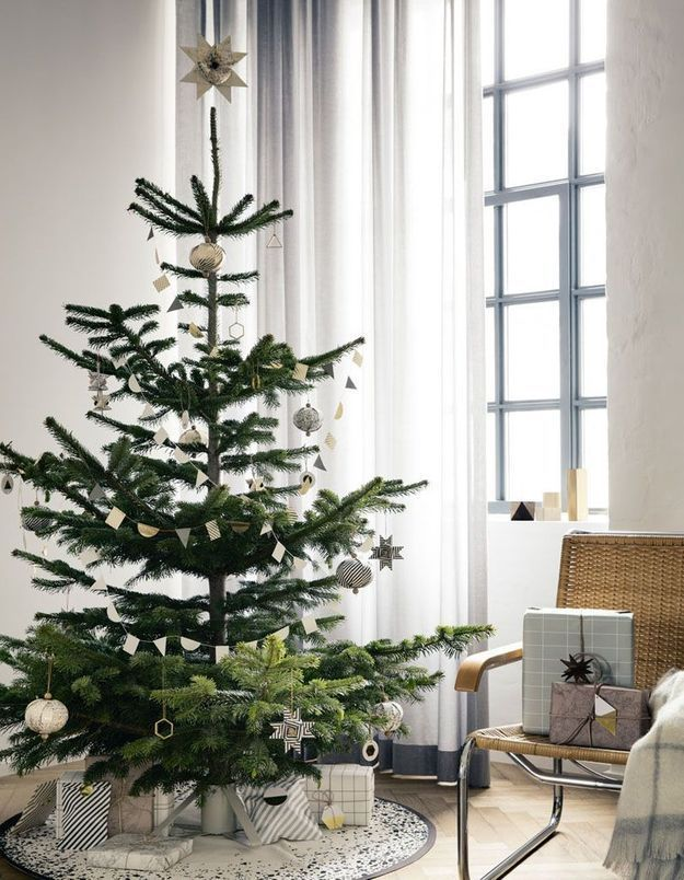 arbre de no l toutes nos id es pour un arbre de no l styl elle. Black Bedroom Furniture Sets. Home Design Ideas
