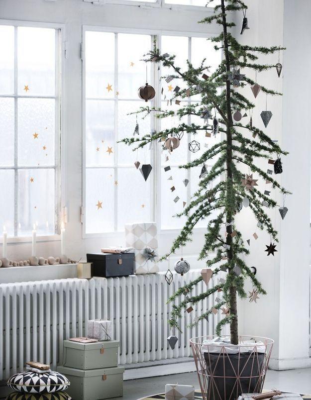 Arbre de Noël effilé