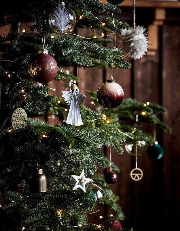 Arbre de Noël moderne