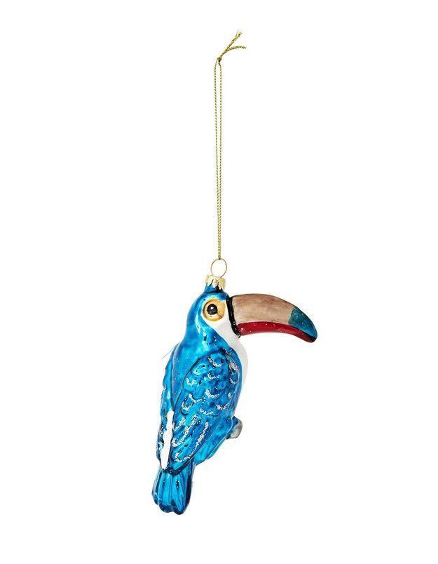 Un perroquet pour la déco du sapin