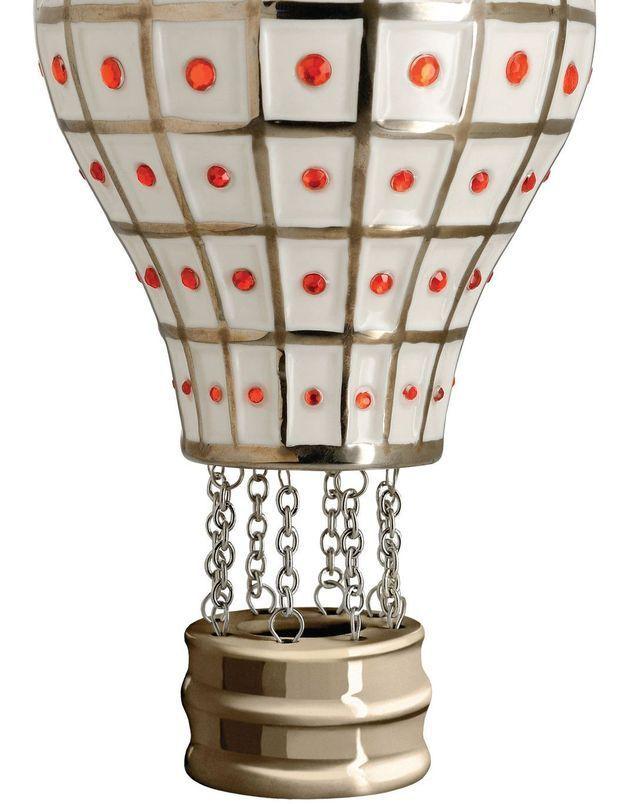 Une montgolfière pour la déco du sapin