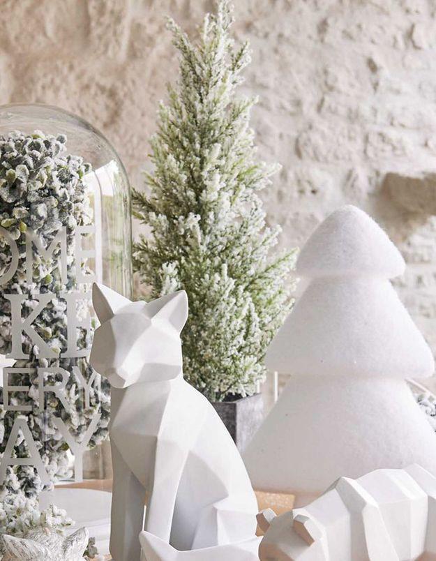 Faux sapin de Noël miniature