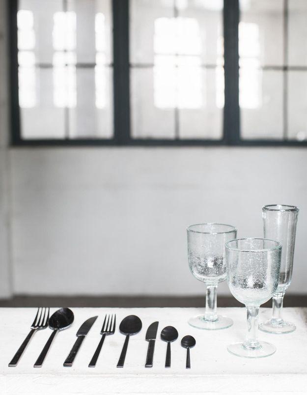Vaisselle de Noël black Alessi