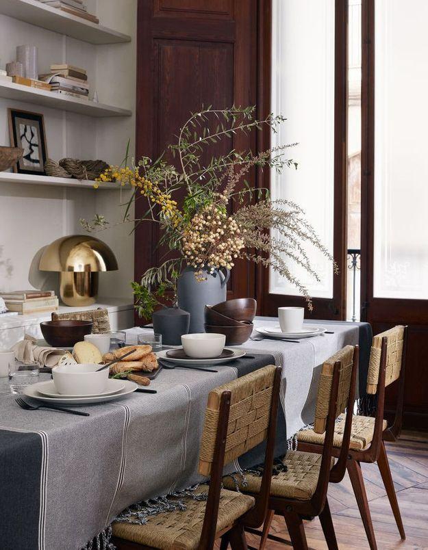 Vaisselle de Noël classique H&M Home
