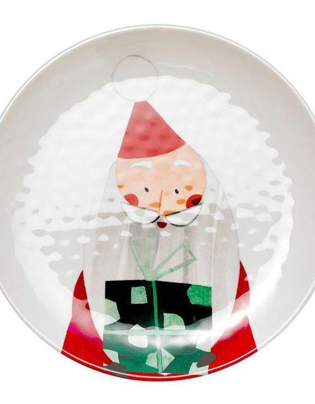 Vaisselle de Noël ludique El Corte Ingles