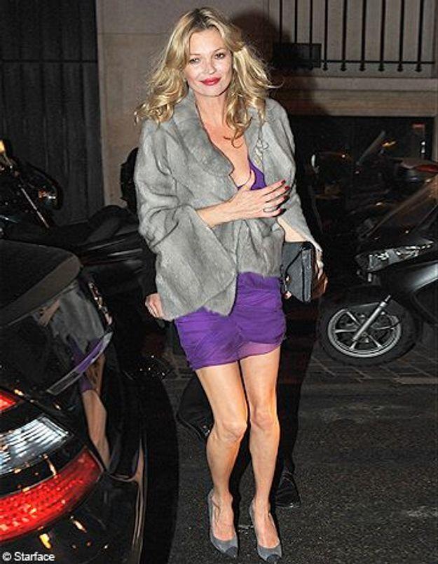 Le look du jour : Kate Moss