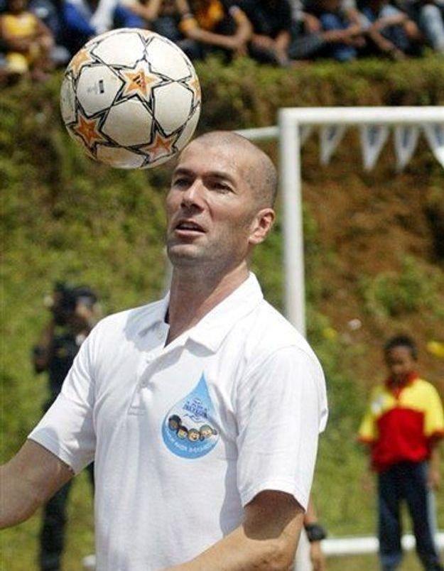 Zidane candidat au prix Prince des Asturies des Sports 2007