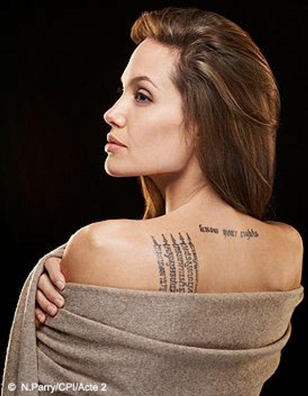 """Angelina Jolie : """"Mes joies, mes peurs, mes combats"""""""