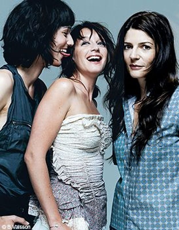 Clotilde Hesme, Ludivine Sagnier, Chiara Mastroianni : Sérénade à trois