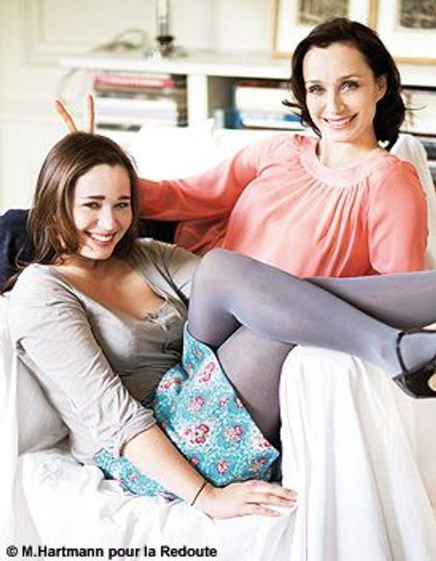 Kristin Scott Thomas et Hannah : de mère en style