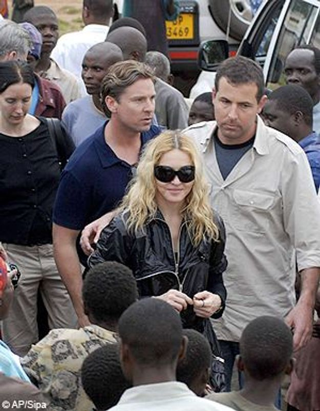 Madonna, son plan B