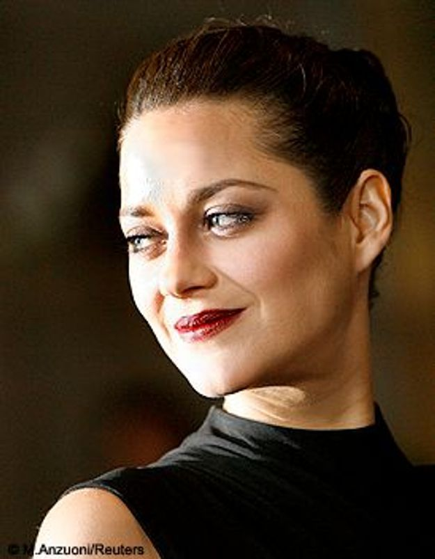 Marion Cotillard. Golden girl
