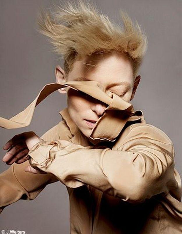 Tilda Swinton, l'androgéniale