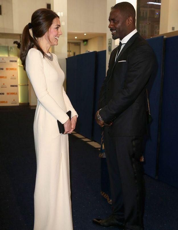 Avec Kate Middleton