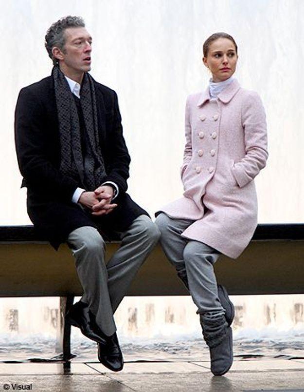 1ère photo de Natalie Portman et Vincent Cassel en tournage