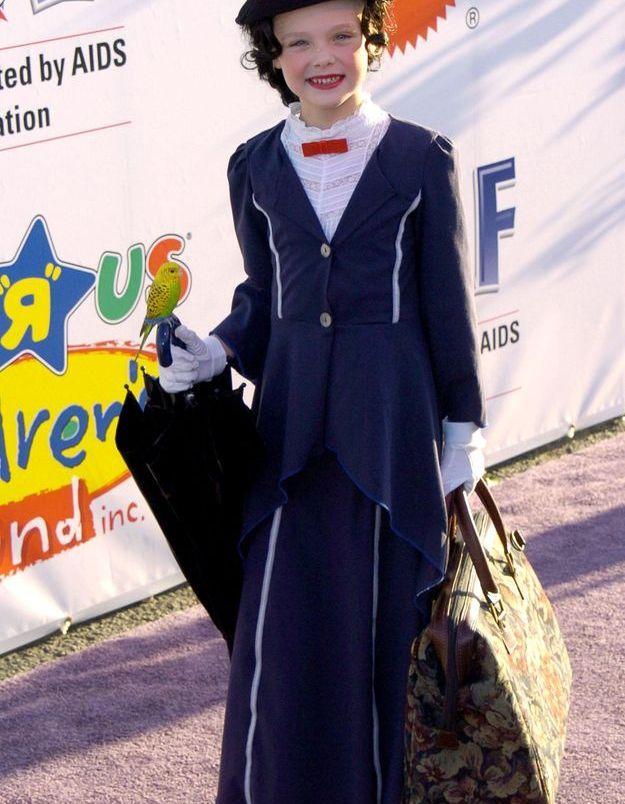 Le costume d'Elle Fanning