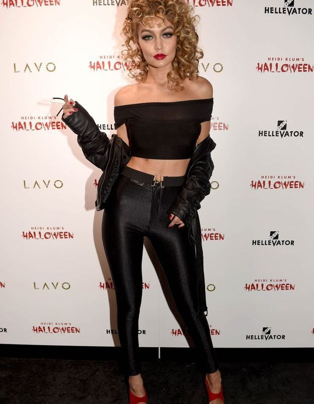 Le costume de Gigi Hadid