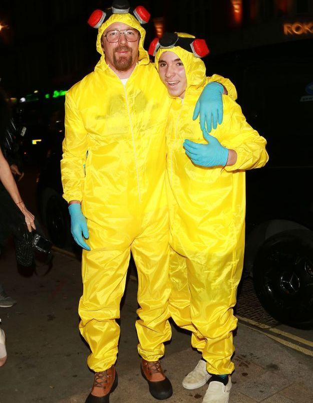 Le costume de Guy Ritchie et Rocco