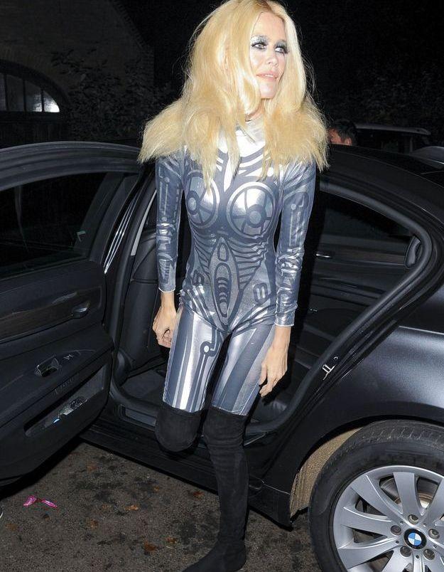 Le déguisement de Claudia Schiffer