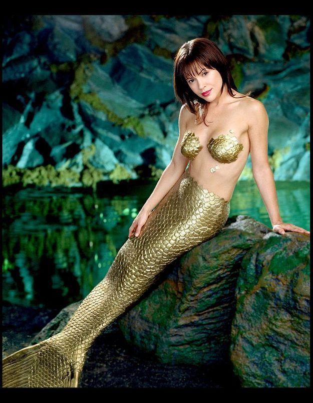 Alyssa Milano a inspiré « La petite sirène »