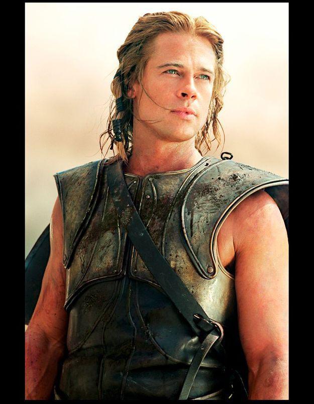 Brad Pitt s'est blessé au talon d'Achille sur le tournage du film « Troie »