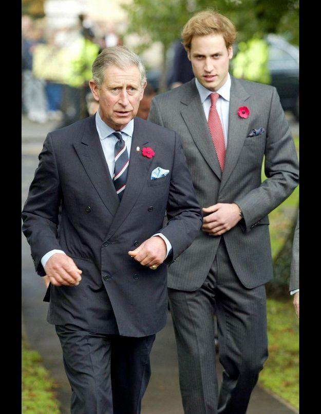 Le prince William et le prince Charles ne prennent jamais l'avion ensemble