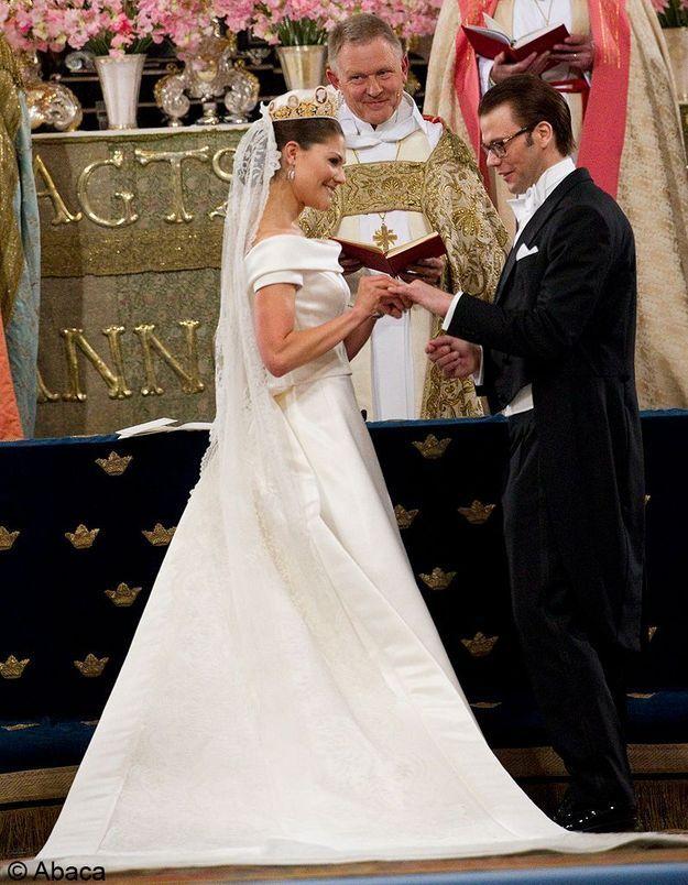 le mariage de Victoria de Suède et Daniel Westling