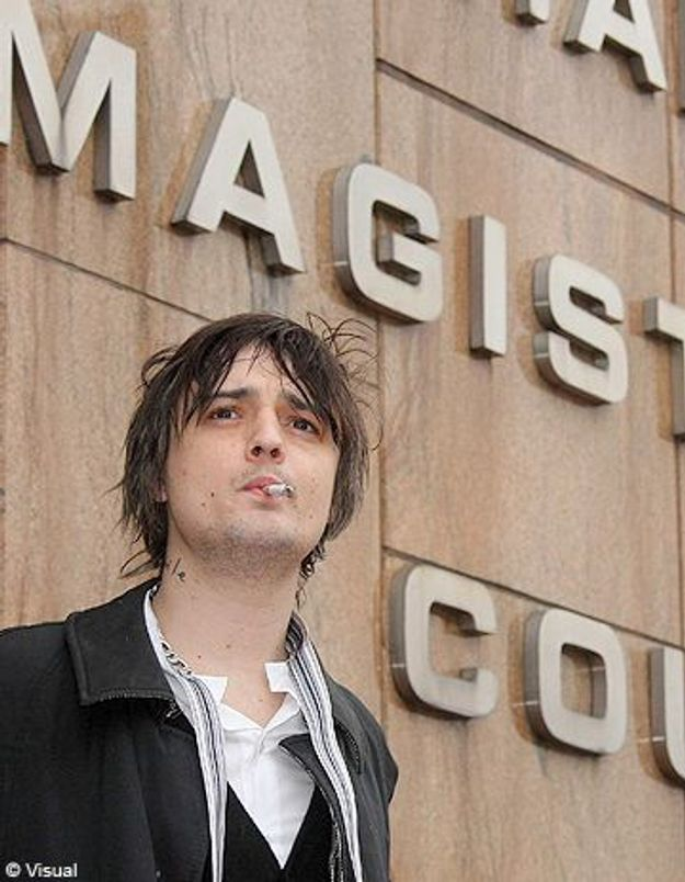 6 mois de prison ferme pour Pete Doherty