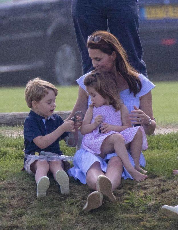 Kate et ses enfants aînés