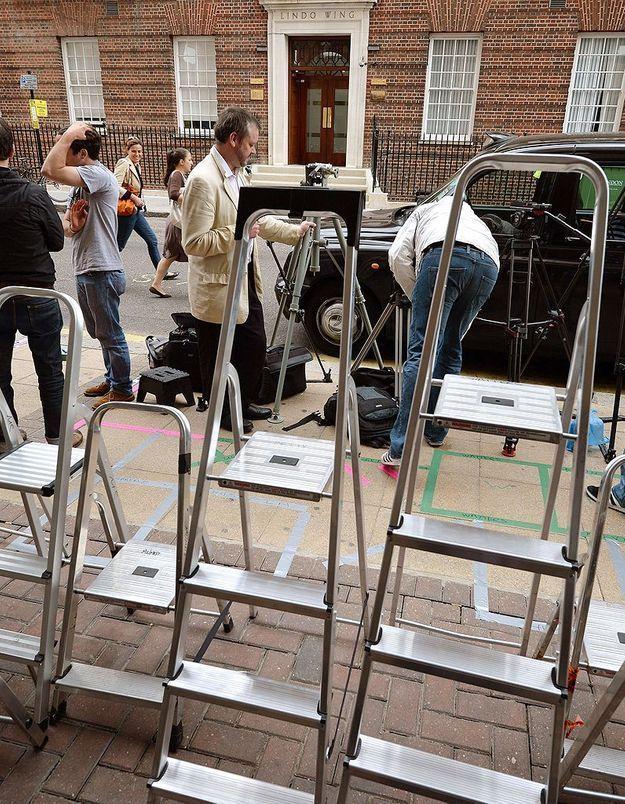 Accouchement de Kate Middleton: les photographes campent devant l'hôpital