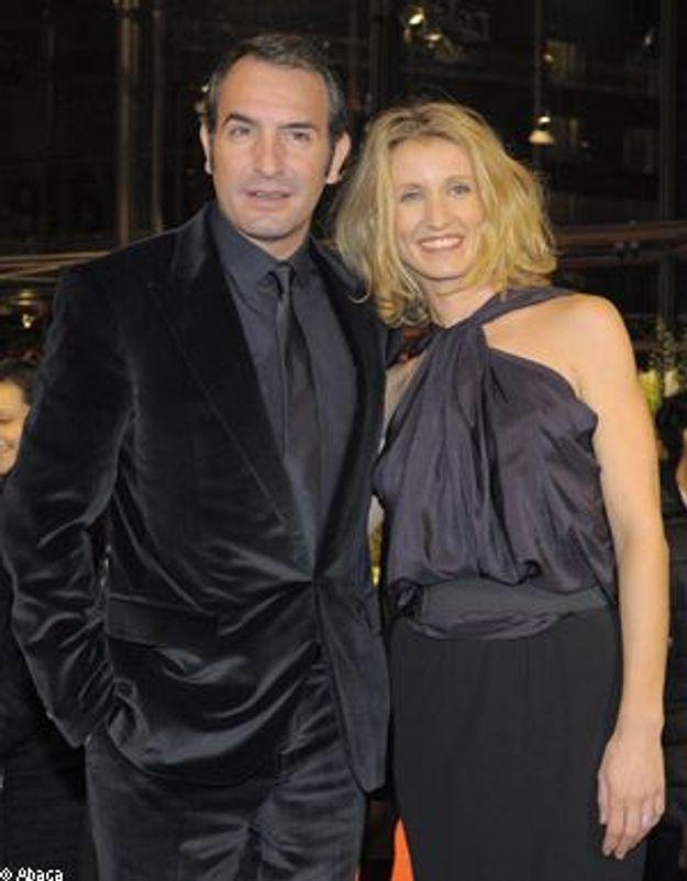 """Alexandra Lamy et Jean Dujardin, """"un gars, une fille""""  mariés !"""