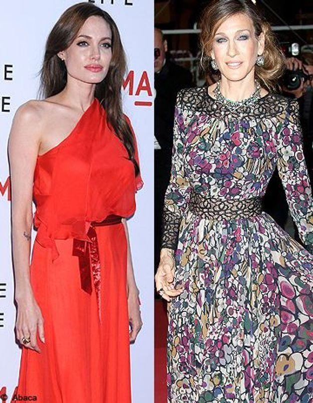 Angelina Jolie et Sarah Jessica Parker, actrices les mieux payées d'Hollywood