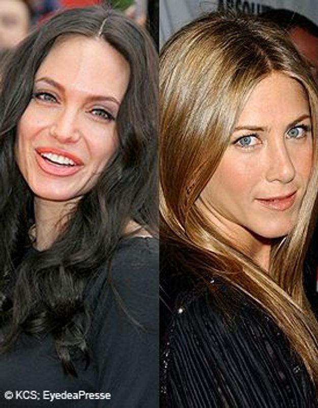 Angelina Jolie/Jennifer Aniston : la hâche de guerre n'est pas enterrée !
