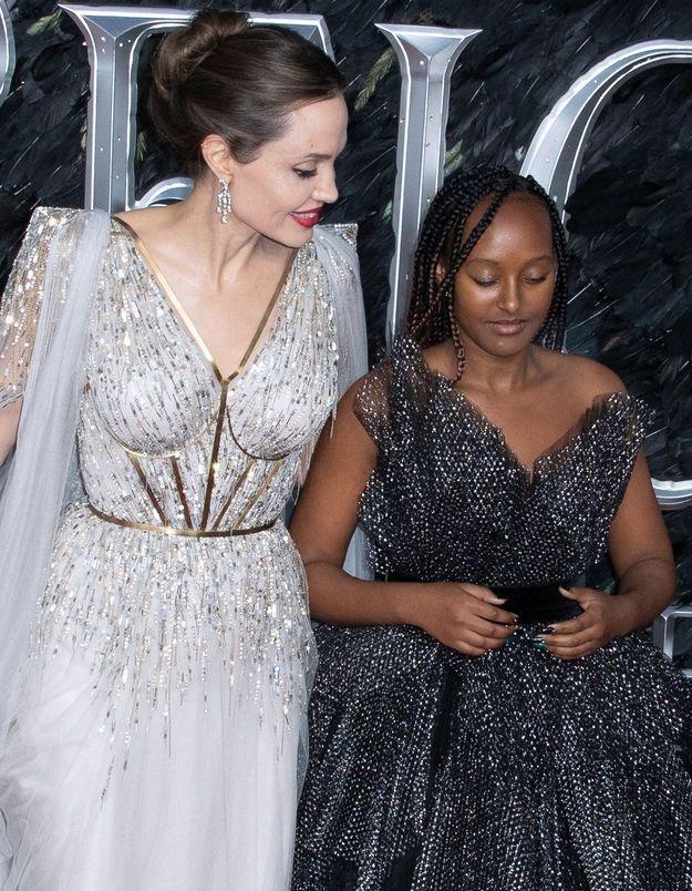Angelina Jolie : sa tendre déclaration à sa fille Zahara