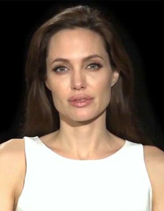 Angelina Jolie : son appel à l'aide pour les réfugiés