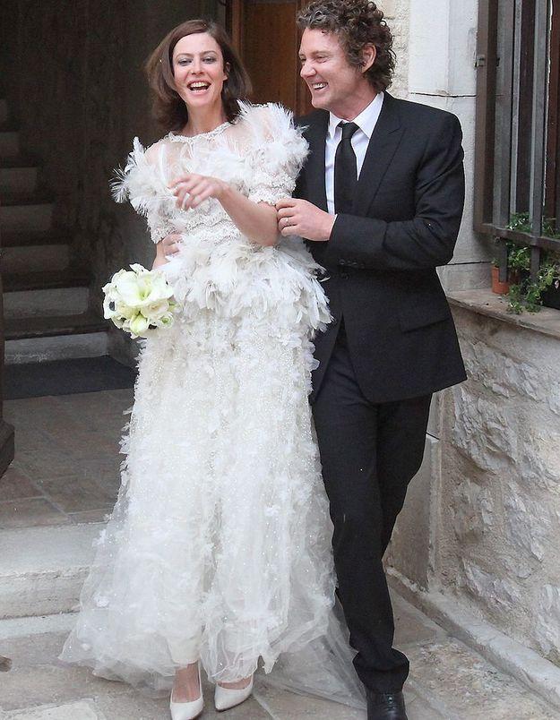 Anna Mouglalis, heureuse mariée depuis vendredi !