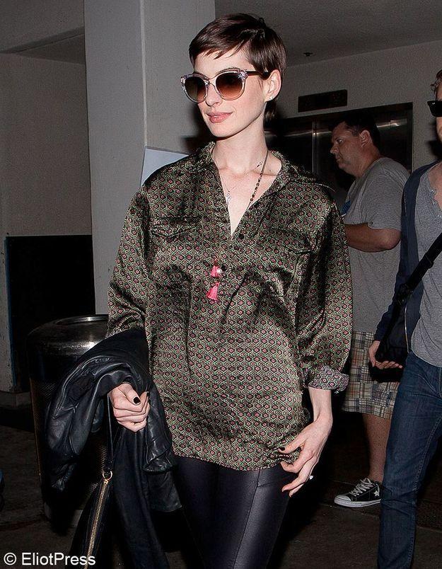 Anne Hathaway enceinte : des photos qui ne trompent pas !