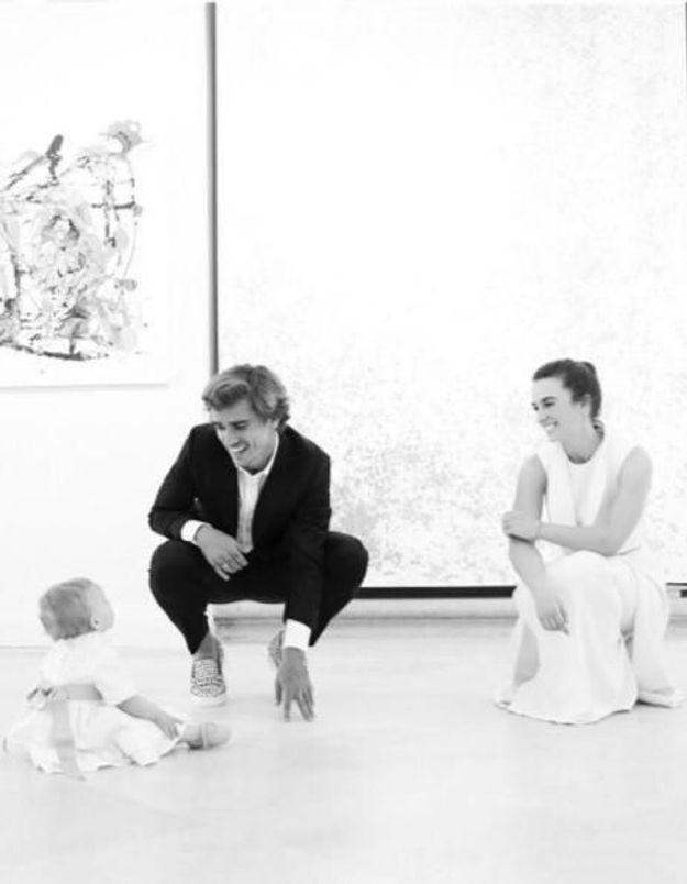 Antoine Griezmann et Erika Choperena : leurs tendres retrouvailles avec leur fille Mia