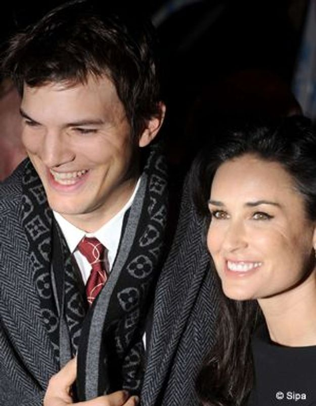 Ashton Kutcher et Demi Moore, bientôt parents ?