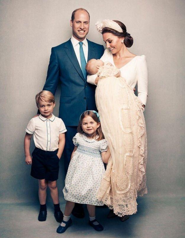 Baptême du prince Louis : les photos officielles enfin dévoilées