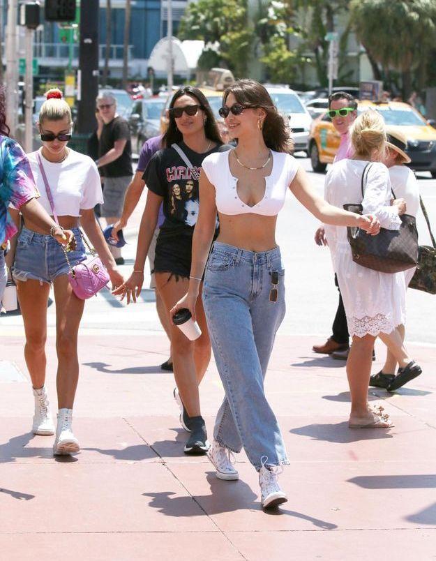 Bella Hadid et Hailey Baldwin se sont offert une balade dans les rues de Miami