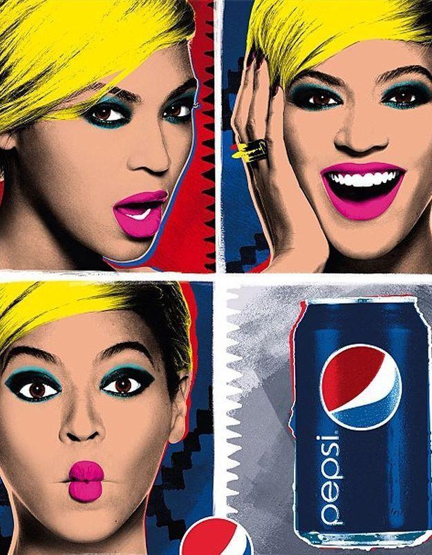 Beyoncé, glamour et fun pour la pub Pepsi