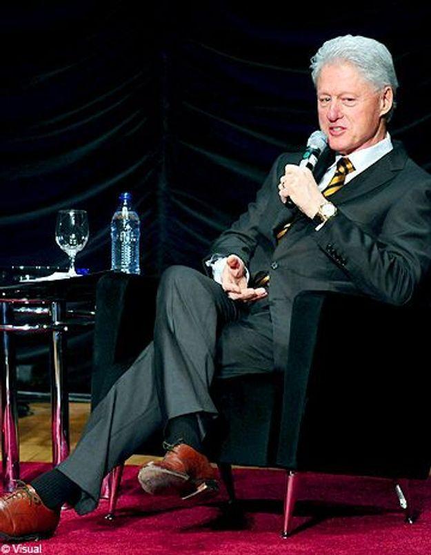 Bill Clinton à la diète forcée pour le mariage de sa fille